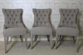 French Style Armchair Dining Chair French Style In Mushroom Grey