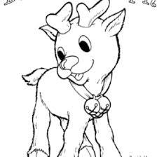 santa u0027s reindeer coloring pages rudolph red nosed reindeer