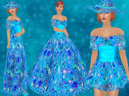 second life marketplace oxy u0027s dresses summer fantasy gown