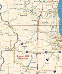 Beloit Wisconsin Map by Summer 2016 Plein Air Journey
