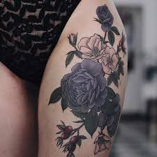 25 beautiful thigh tattoos for women ideas on pinterest women
