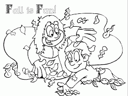 autumn printable coloring pages coloring home