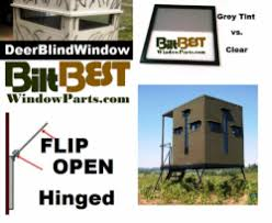Hunting Blind Windows Deer Hunting Blind And Stand Windows All Types Huntsports