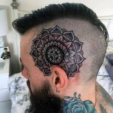 Male Flower Tattoos - 100 head tattoos for men masculine ink design ideas