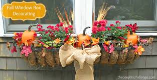 elegant fall window box decorating flowersforwindowboxes fall