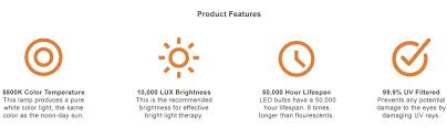 7000 lux bright white light amazon com circadian optics lumos 2 0 light therapy l ultra