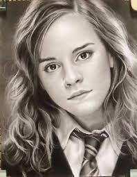 harry potter hermione harry potter hermione granger emma watson art charcoal drawing