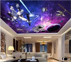 3d Wallpaper For Living Room by Online Buy Wholesale Ceiling Murals Wallpaper From China Ceiling