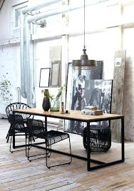 industrial dining room tables cozy i beam dining table vintage industrial furnitureindustrial