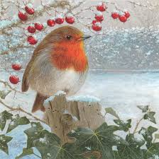 robin christmas card uk private swap with paivi seasai u2026 flickr