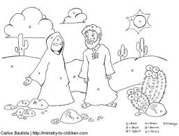 jesus overcomes temptations coloring pages 531904 coloring pages
