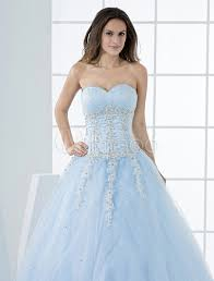 princess wedding dresses pastel blue quinceanera dress lace