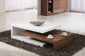 fancy modern coffee table design with gingham pillows white awesome modular modern coffee table design shag rug and glossy white floor
