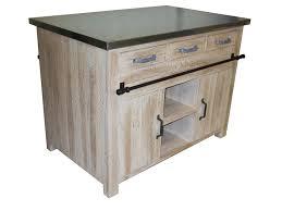 meuble ilot cuisine ilot central meubles cuisine pin massif pas cher la remise