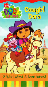 image dora the explorer cowgirl dora vhs jpg nickelodeon