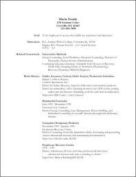 example of a one page resume macfonts resume examples templates