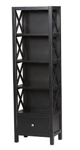 Dark Wood Bookshelves by Bookcase Tall Bookshelves Narrow Bookcase Billy Ikea