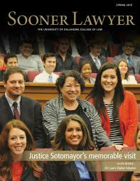 sooner lawyer spring 2015 by university of oklahoma college of