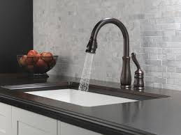 Delta Brushed Nickel Kitchen Faucet Delta Leland Kitchen Faucet Brushed Nickel