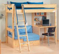 Instructions For Building Bunk Beds by Easy Strong Cheap Bunk Bed Diy Wood Projects Pinterest