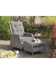Kettler Jarvis Recliner Garden Furniture Chairs Outdoor Furniture Chairs Weave Metal