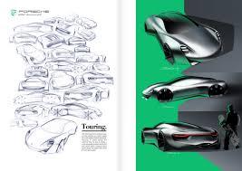 porsche concept sketch porsche 944 advanced gt bart de graaff design
