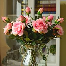 real home decor wedding decoratio high quality artificial flowers vivid real touch