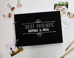 best friend photo album friends photo album etsy