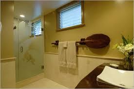 bathroom towel rack ideas bathroom towel bar ideas with wood towel bar and glass door shower