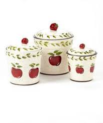 apple canisters for the kitchen casa cortes country apple collection deluxe 4 piece canister set