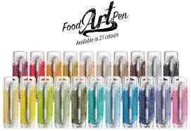 edible pen rainbow dust launch their best edible ink pen food heaven
