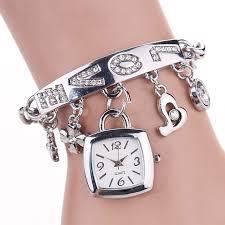 s bracelet fashion women s watches rhinestone stainless steel bracelet