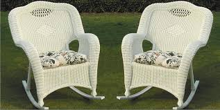 Savannah Outdoor Furniture by Savannah All Weather Wicker Rockers Set Of 2 All About Wicker