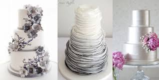 silver wedding cakes silver wedding cakes