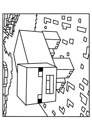 minecraft llama coloring pages coloring