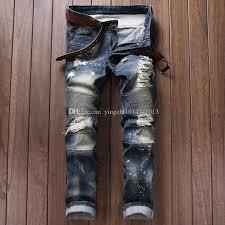 Ripped Denim Jeans For Men Best 25 Balmain Jeans Men Ideas Only On Pinterest Balmain Shoes
