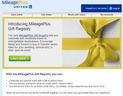 the gift registry united airlines introduces mileage plus gift registry loyaltylobby