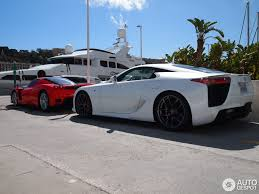 lexus lfa vs bmw i8 lexus lfa 13 april 2012 autogespot