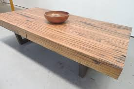reclaimed timber coffee table nice timber coffee table stringybark coffee table rust furniture