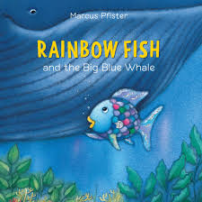 rainbow fish big blue whale book marcus pfister