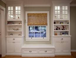 Window Seat Bookshelves Built In Window Seat Interesting Built In Bookcase And Window