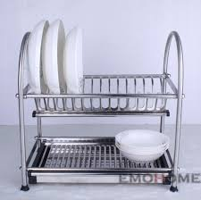 Dish Drainers Furniture Home Dish Drainer Stainless Steel Modern New 2017