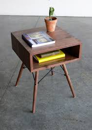 Small Side Tables by Stylish Mid Century Modern Side Table All Modern Home Designs