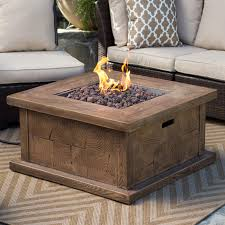 Gas Firepit Table Outdoor Gas Pit With Attractive Outdoor Gas