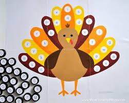 alphabet turkey match free printable i crafty things