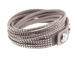 leather bracelet with swarovski crystal images Shop carves rakuten global market crystal swarovski swarovski jpg