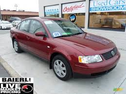 volkswagen colorado 2000 colorado red metallic volkswagen passat gls v6 sedan