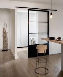 modern kitchens and bathrooms 10 examples of barn doors in contemporary kitchens bedrooms and