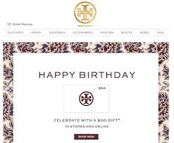 effective birthday emails that light up our inboxes