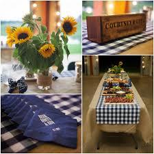 rustic barn wedding rehearsal bbq burlap tablecloth barn